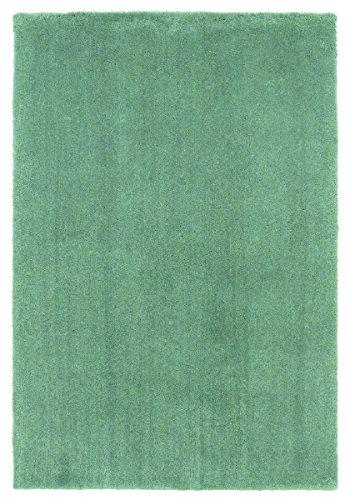 KAS Oriental Rugs Bliss Collection Shag Area Rug, 5' x 7', Slate