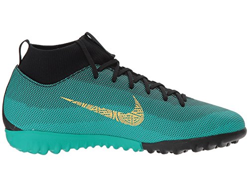 e94819d35c8 Nike JR SPEFLY 6 Academy GS CR7 TF Boys Soccer-Shoes AJ3112-390 6Y -