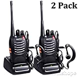 Baofeng BF-888s Walkie Talkies Long Range Radios with Earpiece Mic UHF Radios 5W Two Way Radio...