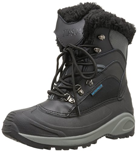 Womens Boots Itasca (Itasca Women's Sleigh Bell-W, Black/Grey, 7 M US)