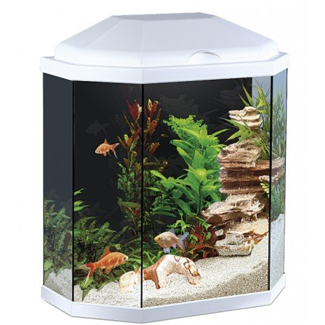 Acuario Aqua 30 Led Blanco