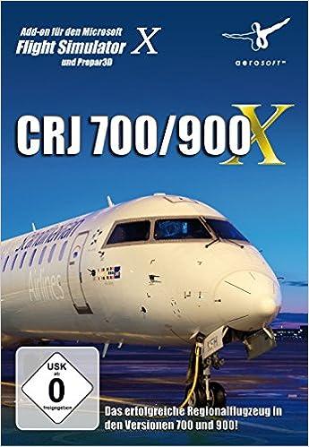 AddOn FSX CRJ 700/900 X Addon zum Flightsimulator X: Amazon