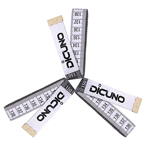Best Prices! Dicuno 60-Inch 1.5 Meter Soft Tape Measure Tailor Sewing Craft Cloth Medical Body Measu...
