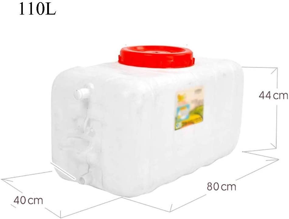 NO BRAND Q-L Tanque colector de Agua de Lluvia con ba/ñera Recipiente de Agua del Grifo Portable al Aire Libre pl/ástico Grueso Size : 25L