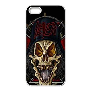 Printed Phone Case Band Slayer For iPhone 5, 5S Q5A2113190