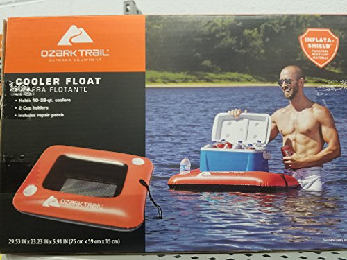 (Ozark trail cooler float with two cup holders)