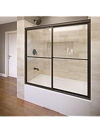 bathtub sliding doors