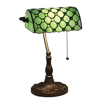 Luz de la tabla de mesa Tiffany Estilo Lámpara del vitral del ...