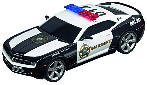 (Carrera 30756 Digital 132 Slot Car Racing Vehicle - Chevrolet Camaro Sheriff - (1:32 Scale))