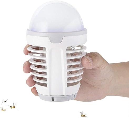 Lámpara Antimosquitos Exterior LED Camping Lampara 2 en 1 ...