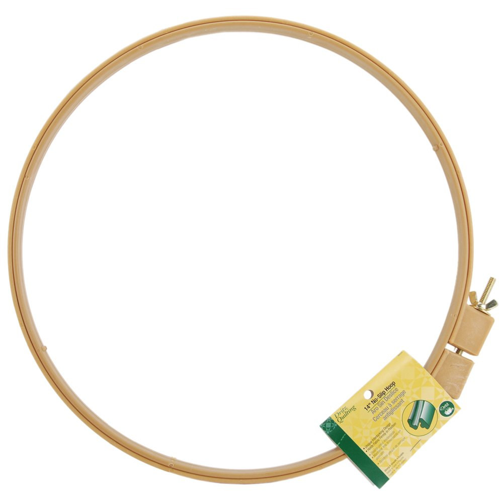 Dritz cotton Quilting No-Slip Hoop 10-inch 3201
