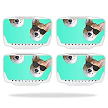 Skin For Blade Chroma Drone Battery (4 pack) – Cool Corgi | MightySkins Protective, Durable, and Unique Vinyl Decal wrap cover | Easy To Apply, Remove, and Change Styles | Made in the USA