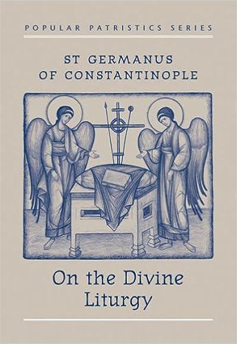 Book St Germanus of Constantinople on the Divine Liturgy