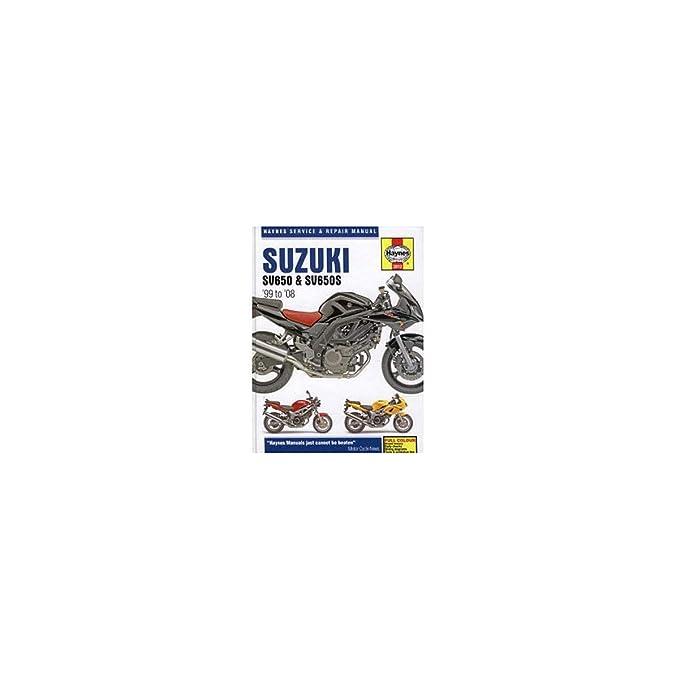 Amazon.com: Haynes 99-05 Suzuki SV650 Repair Manual: Automotive