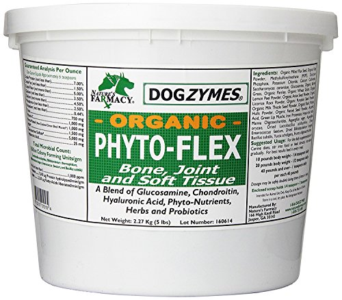 Dogzymes Phyto-Flex Bone, Joint and Soft Tissue Support for Pets, 10-Pound by Dogzymes