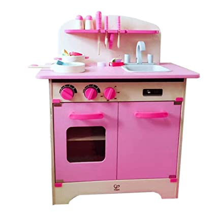 Amazon.com: Pretend Play Kitchen Playsets Kids Simulation ...