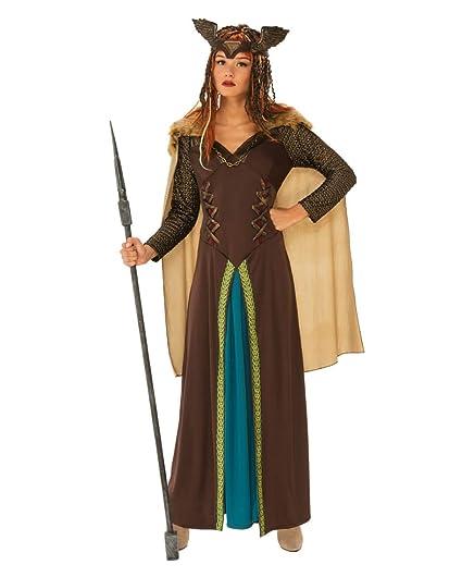 Horror-Shop Traje de la Mujer Guerrera Vikinga S: Amazon.es ...