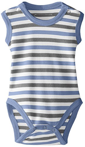 L'ovedbaby Girls' Unisex-Baby Newborn Organic Sleeveless Bodysuit,