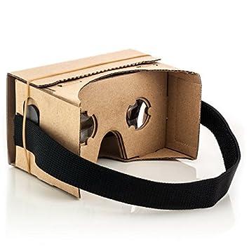 2e275f93e8bd Saxonia VR Cardboard 3D Glasses Virtual Reality  Amazon.co.uk  Electronics