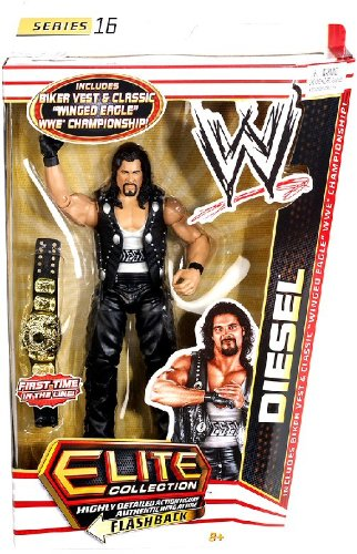 WWE Collector Elite Diesel Figure - Series 16 by Mattel