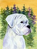 Caroline's Treasures SS8198CHF Boxer Flag Canvas, Large, Multicolor