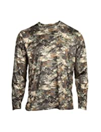 Rocky Outdoor Shirt Mens Long Sleeve Stratum 2XL Venator Camo HW00182