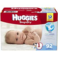 Huggies\x20Snug\x20and\x20Dry\x20Diapers\x20\x2D\x20Size\x201\x20\x2D\x2092\x20ct
