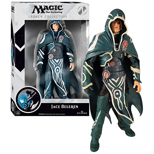 Funko Year 2014 Magic The Gathering Legacy Collection Series 7 Inch Tall Action Figure - JACE BELEREN with Removable Hooded Cape by Magic: the Gathering