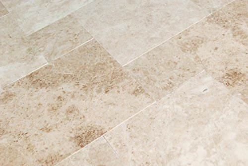 Versailles Marble - Cappuccino Marble Versailles Pattern Tiles, Polished (Sample)