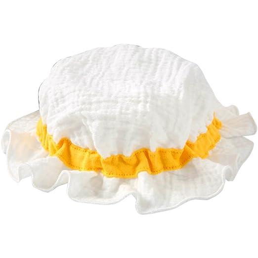 Babynice Chapeau de Soleil Bébé Anti UV Respirant Nouveau-Né Chapeau de  Plage Souple Pliable 0-18mois  Amazon.fr  Vêtements et accessoires a1aa5d9eae1