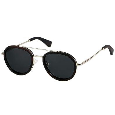 159fd3eb95d Amazon.com  ANDWOOD Wood Aviator Polarized Sunglasses For Men Black ...