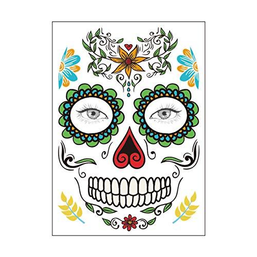 WSJDE Decoración de Fiesta de Halloween Máscara de Halloween ...