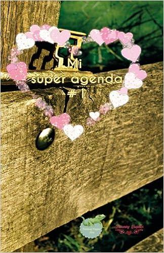 Mi súper agenda #1: interior a color (Spanish Edition ...