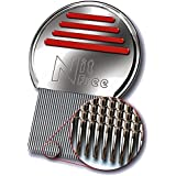 ORIGINAL Nit Free Terminator Lice Comb - #1 RATED LICE & NIT COMB, PROVEN THE BEST ON THE MARKET! Get Rid of Head Lice & Nits Easily with this Professional Stainless Steel Metal Comb by LEVIA