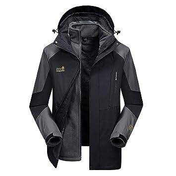 SJZC Chaqueta Impermeable Face The Cortavientos Abrigo Hombres Cazadora Invierno Jacket Chaquetas Abrigos015: Amazon.es: Deportes y aire libre