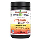 Amazing Nutrition Amazing Formulas Vitamin C Ascorbic Acid Dietary Supplement - 1 Lb. Powder (Approx. 454 Servings ) - Provides Immune & Healthy Aging Support -*