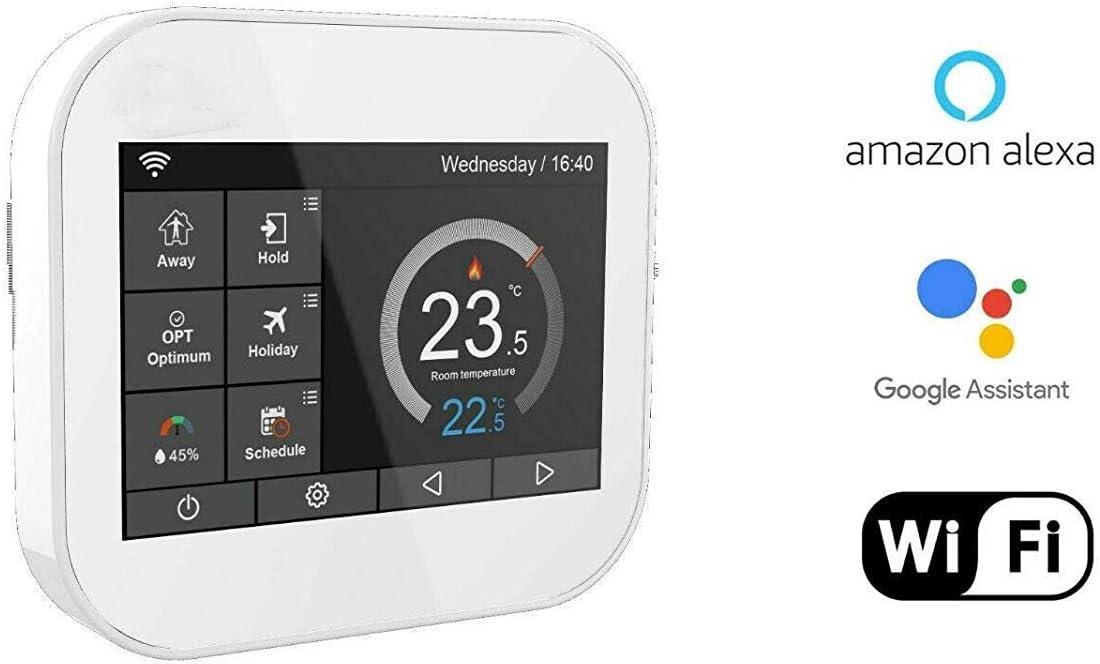 Kit de Calefacci/ón El/éctrica Por Suelo Radiante de 200 W Termostato Negro WiFi Inteligente 1.5m/² Nassboards Premium Pro