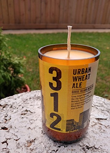 Cherry Wheat Ale - 312 Urban Wheat Ale Beer Bottle Soy Candle You Choose Color & Fragrance!