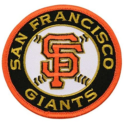 2accd2a53 Amazon.com   San Francisco Giants Embroidered Team Logo Collectible Patch    Baseball And Softball Apparel   Sports   Outdoors