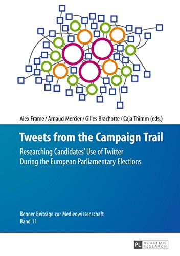 Tweets from the Campaign Trail: Researching Candidates Use of Twitter During the European Parliamentary Elections (Bonner Beitraege zur Medienwissenschaft Book 11) por Alex Frame,Arnaud Mercier,Gilles Brachotte,Caja Thimm
