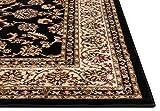 Noble Sarouk Black Persian Floral Oriental Formal