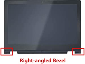 Compatible 13.3 inch FullHD 1080P LP133WF2 (SP)(L2) LED LCD Display Touch Screen Digitizer Assembly + Bezel Replacement for Dell Inspiron 13 7000 Series 7347 7348 7359 P57G002