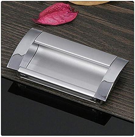 KFZ- Tiradores ocultos de aleación de aluminio, modernos y minimalistas, tiradores ocultos para armario, cajones, tiradores para puerta de armario, HAO-5802 2.52