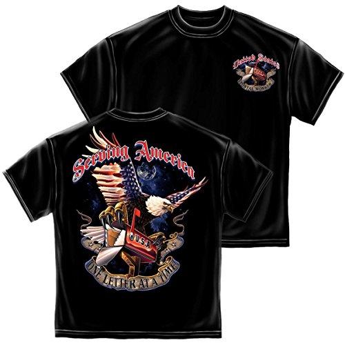 Erazor Bits T-Shirt American Postal Worker Black