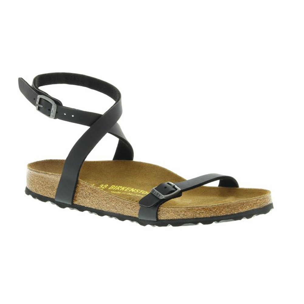 Birkenstock Women's Daloa Sandals (40 M EU / 8-8.5 2A(N) US, Black)
