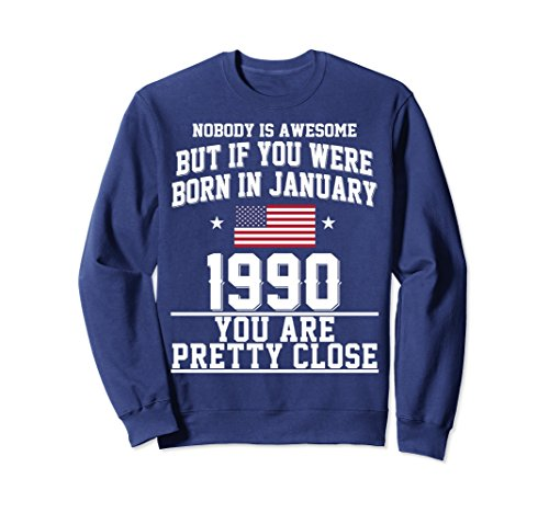 Unisex HAPPY 1990 IT'S MY 28TH YEARS OLD BIRTHDAY GIFT IDEAS TSHIRT Small Navy