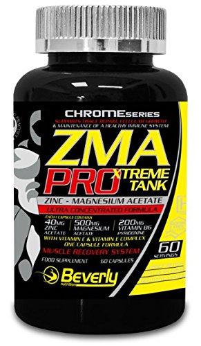 Beverly Nutrition Exclusive para ABSat40 ZMA Pro - promueve un aumento de la masa muscular -
