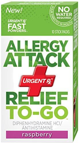 UrgentRx allergie Attaque secours aux Aller poudre, 10 Sticks