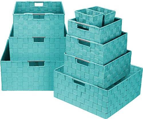 Sorbus Storage Container Organizer Stackable