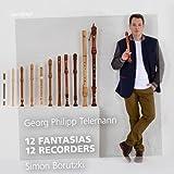 12 Fantasias - 12 Recorders